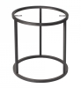 Accent Frame to coffee table, Ø50, black