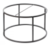 Accent Frame to coffee table, Ø85, black