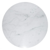 Accent Table top, Dining table, Ø110, light marble