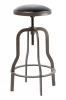 Vegas Barstool with padded PU top 2pcs
