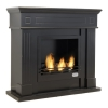 Cambridge ethanol fireplace black